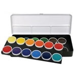 OPAQUE WATERCOLORS SET/24