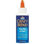 CRAFTBOND TACKY GLUE 4 OZ