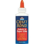 CRAFTBOND FABRIC GLUE 4 0Z
