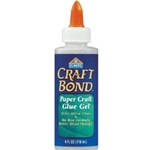 CRAFTBOND PAPER GEL GLUE 4 OZ
