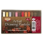 PORTRAIT DRAWNG PASTELS SET/12