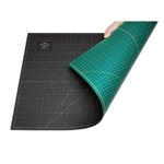 Alvin® GBM Series Green/Black Professional Self-Healing Cutting Mat 8 1/2 x 12